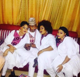 Mc Oluomo and wives
