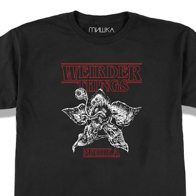 "Stranger Things ""Weirder Things"" T-Shirt by L'amour Supreme x Mishka"