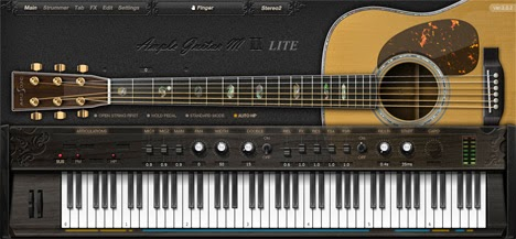 Ample Guitar M Lite II - Plugin VST de Violão