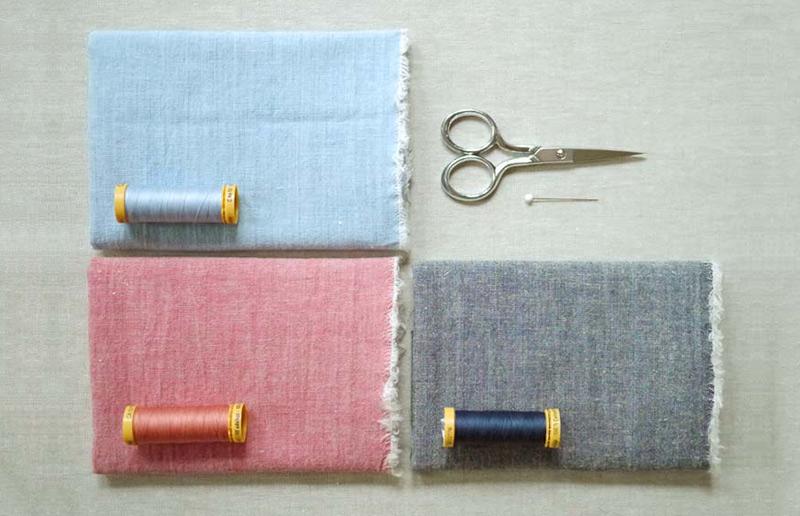 Material para fazer guardanapos de tecido diy com franja