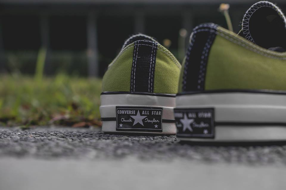 1d86086163b7 ... Converse Chuck Taylor All Star 1970 Green and White ...