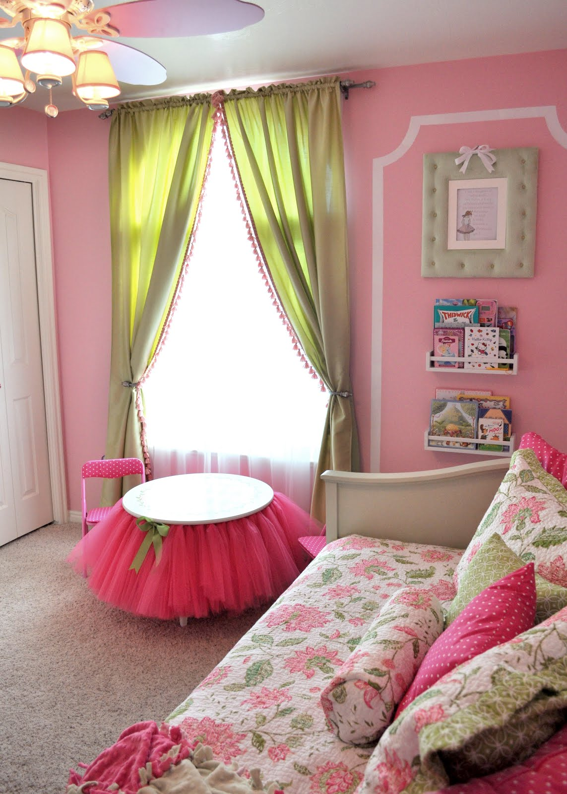 "Sassy Sanctuary: Ava's &Quot;big Girl"" Room"