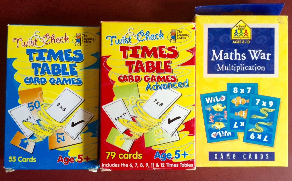 Multisensory multiplication i love these simple twist check card games because they are a great way for me to easily get involved just by playing a few rounds i can tell quite gamestrikefo Choice Image