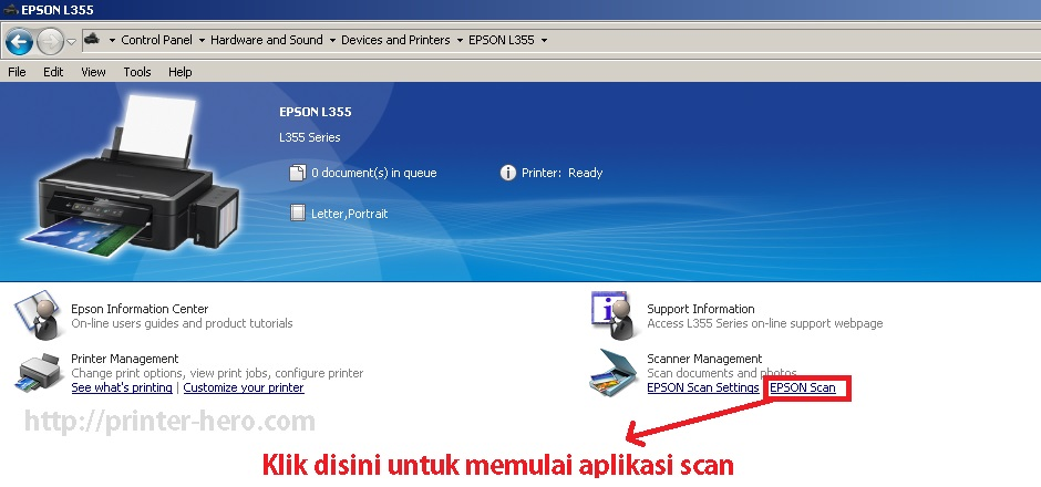 Epson L3110 Software