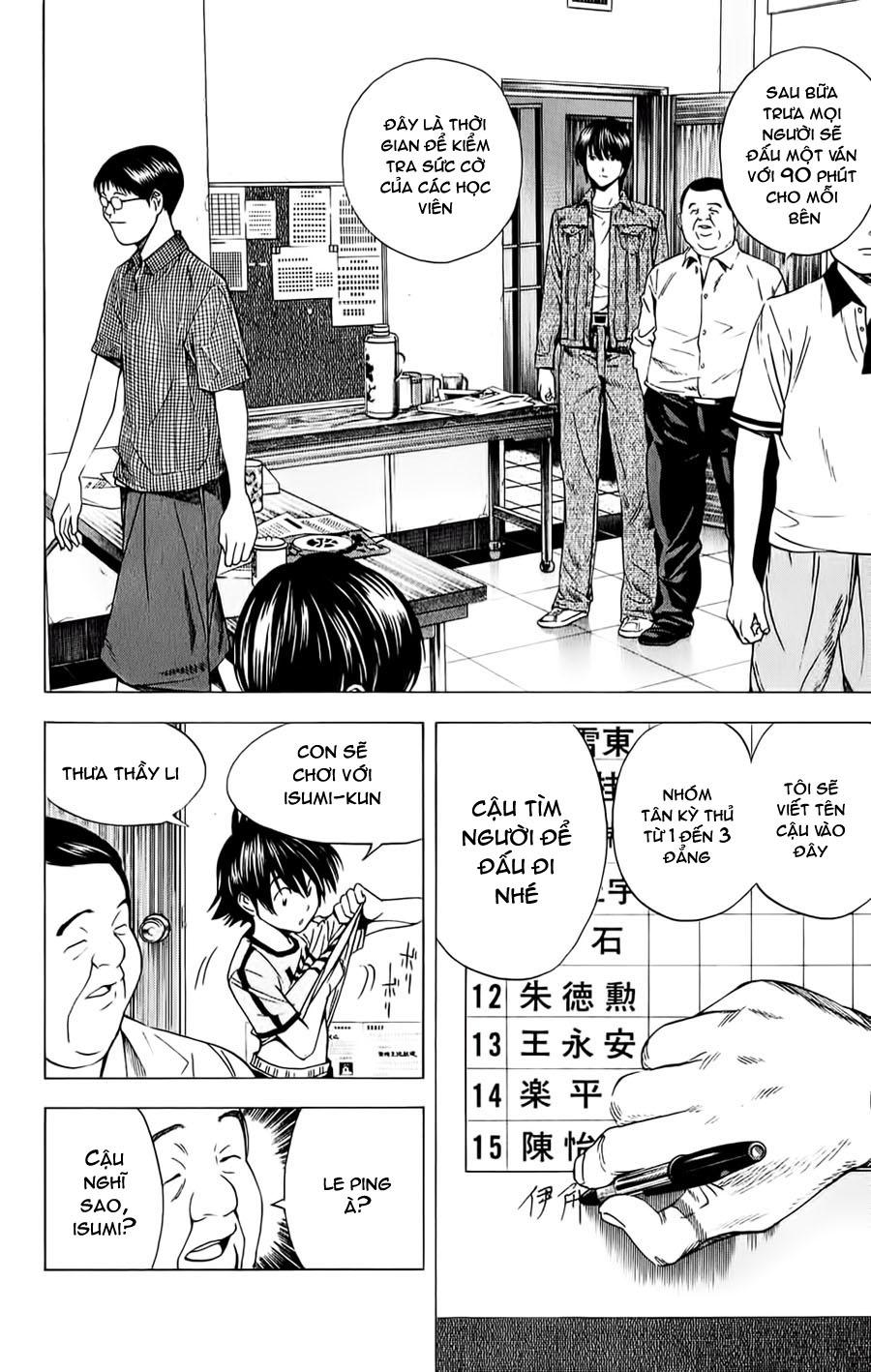 Hikaru No Go hikaru no go chap 132 trang 11