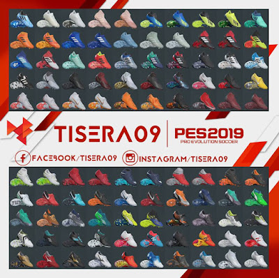 PES 2019 Bootpack Season 2018/2019 by Tisera09
