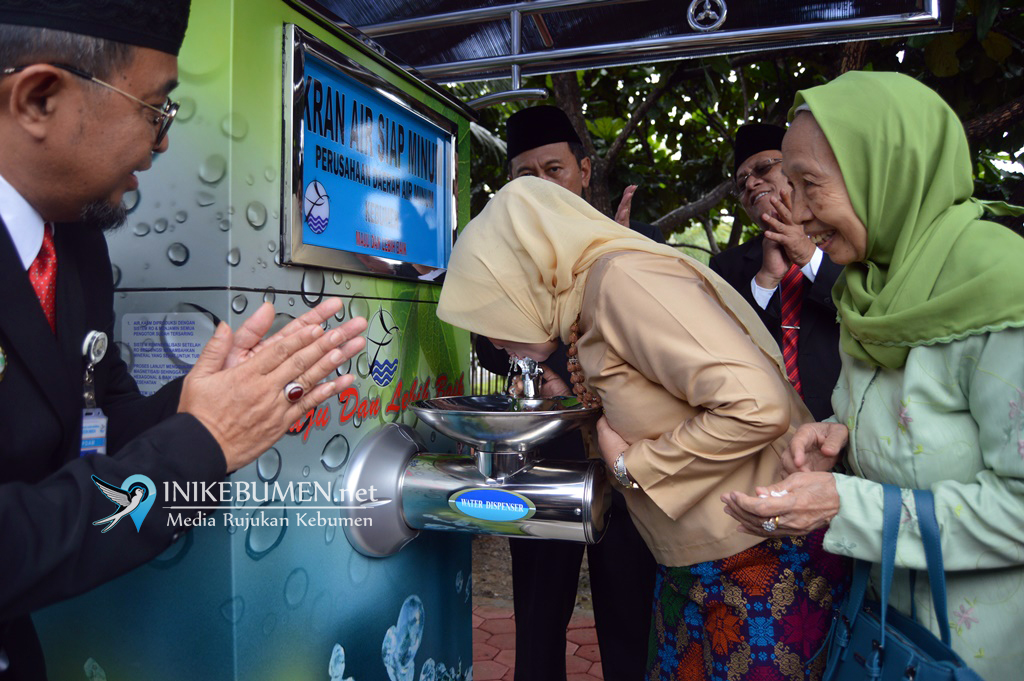 Kebumen Kini Miliki Kran Air Siap Minum Terbaik di Indonesia