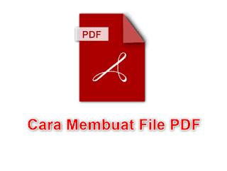Beberapa cara membuat file PDF-dengan MS Office