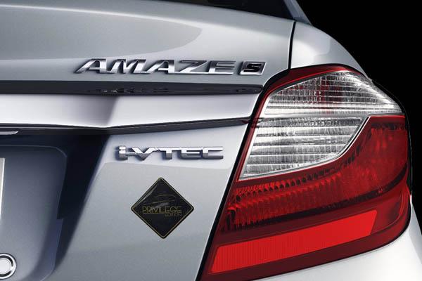 Honda Brio Amaze Previlege Edition Rear Badging