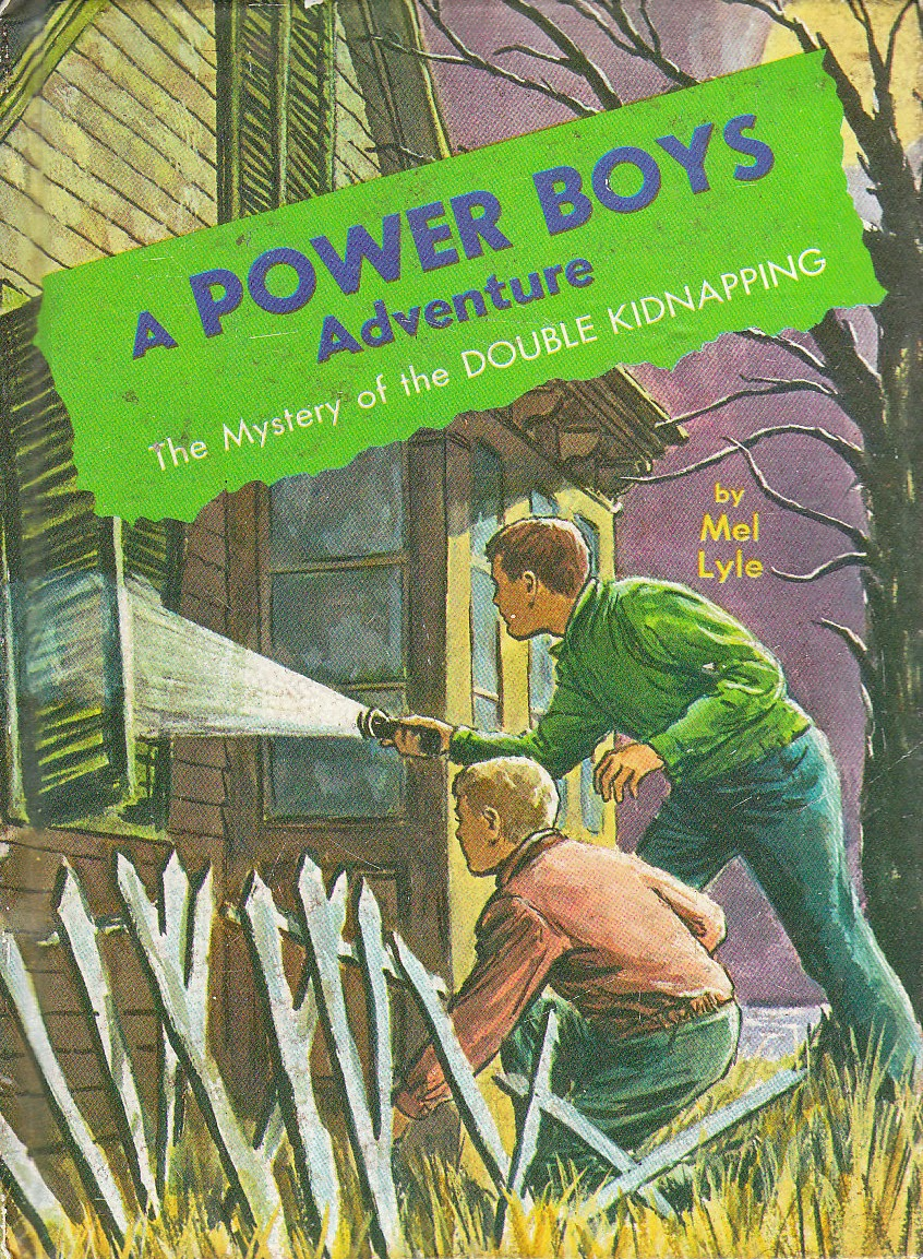 Series Books for Girls: Power Boys #5 Double Kidnapping and #6