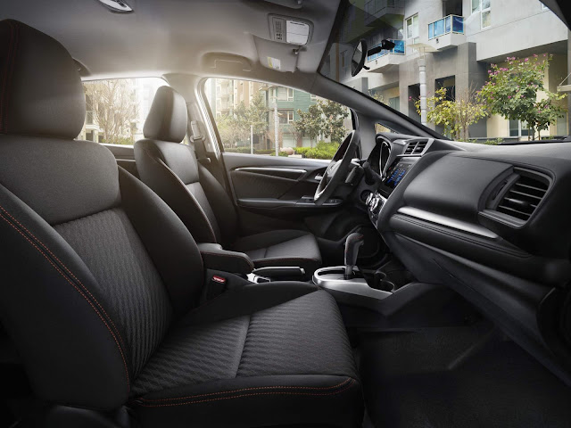 novo Honda FIT 2018 - interior