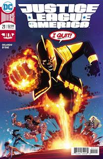 """Primer vistazo al #21 de """"Justice League of America"""" de DC Comics"""