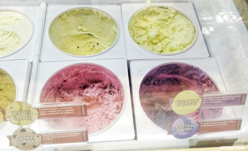 More Ice Cream Flavors In The Pictures Underneath Mango Sorbet