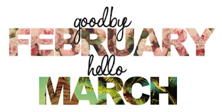 Image result for goodbye february, hello march