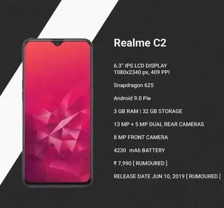 Harga Terbaru Realme C2 2019