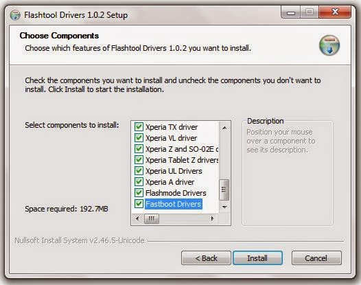 Cara Install Dan Kegunaan Flashtool Untuk Xperia Device 8