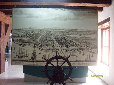 Peta Pelabuhan Sunda kelapa museum Bahari