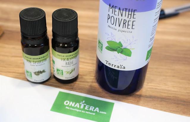 Hydrolats et huiles essentielles Terraïa Onatera