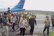 Plt. Gubernur Sulsel Resmikan Penerbangan Pesawat Garuda Ke Selayar