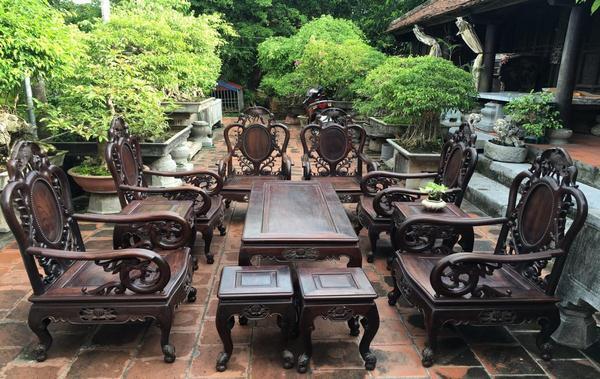 Thế nào là bộ bàn ghế gỗ trắc đẹp?
