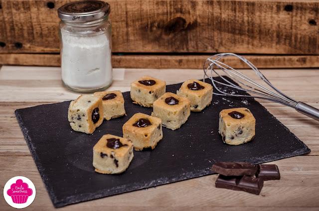 Les petits tigrés - petits gâteaux à la poudre d'amande et pépites de chocolat