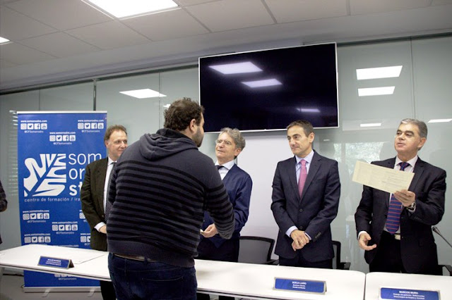 Inauguración del centro Rosa Bilbao y entrega de diplomas a los nuevos operadores