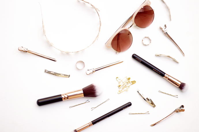 Favorite Rose Gold Fashion Items & Brushes