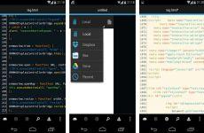 DroidEdit: editor de código fuente y texto para Android gratuito