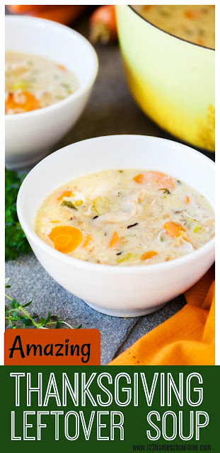 Amazing Thanksgiving Leftover Soup. This soup recipe is easy, healthy, creamy and flavorful you may find yourself making turkey just to get to this leftover soup. This is a fantastic Winter Soup Recipe.