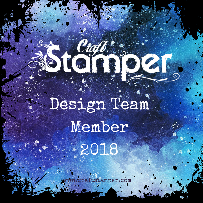 Proud to be a member of the Craft Stamper DT
