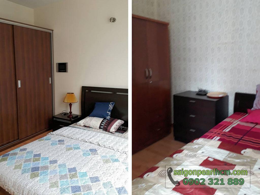 Saigon Pearl R2 lầu cao cho thuê 2 phòng ngủ full nội thất - hình 4
