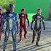 Por trás das cenas no filme de Power Rangers