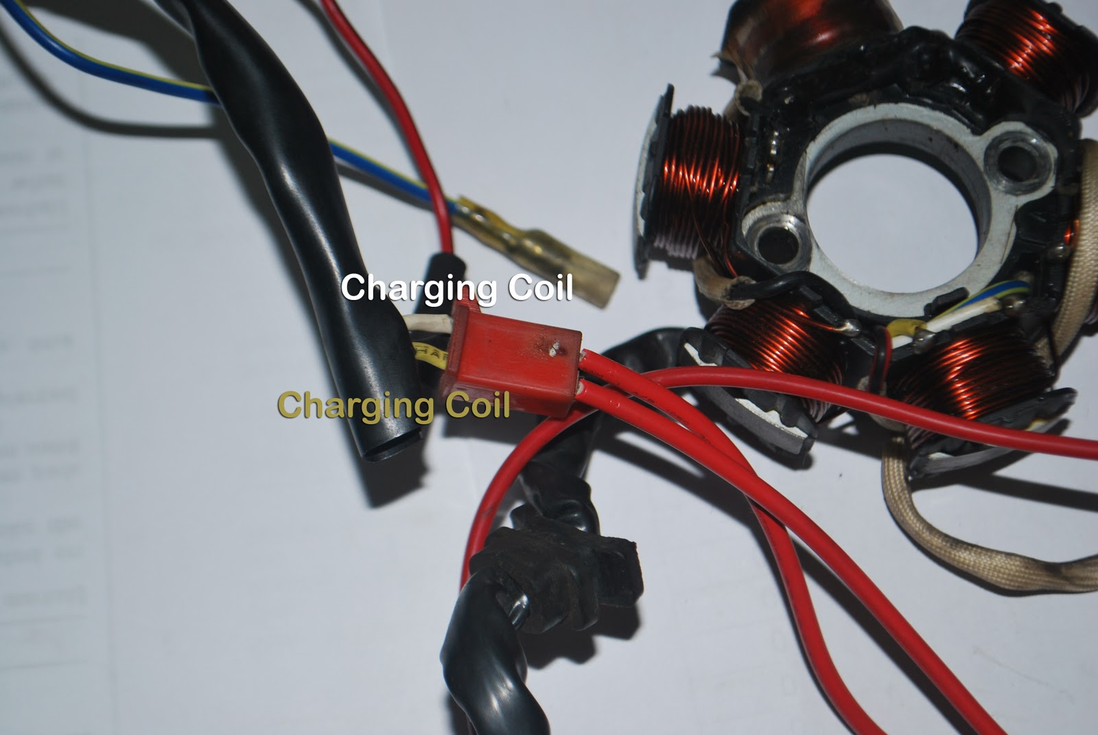 DIY: Fix On Your Own: How to check GY6 Scooter Stator Coil