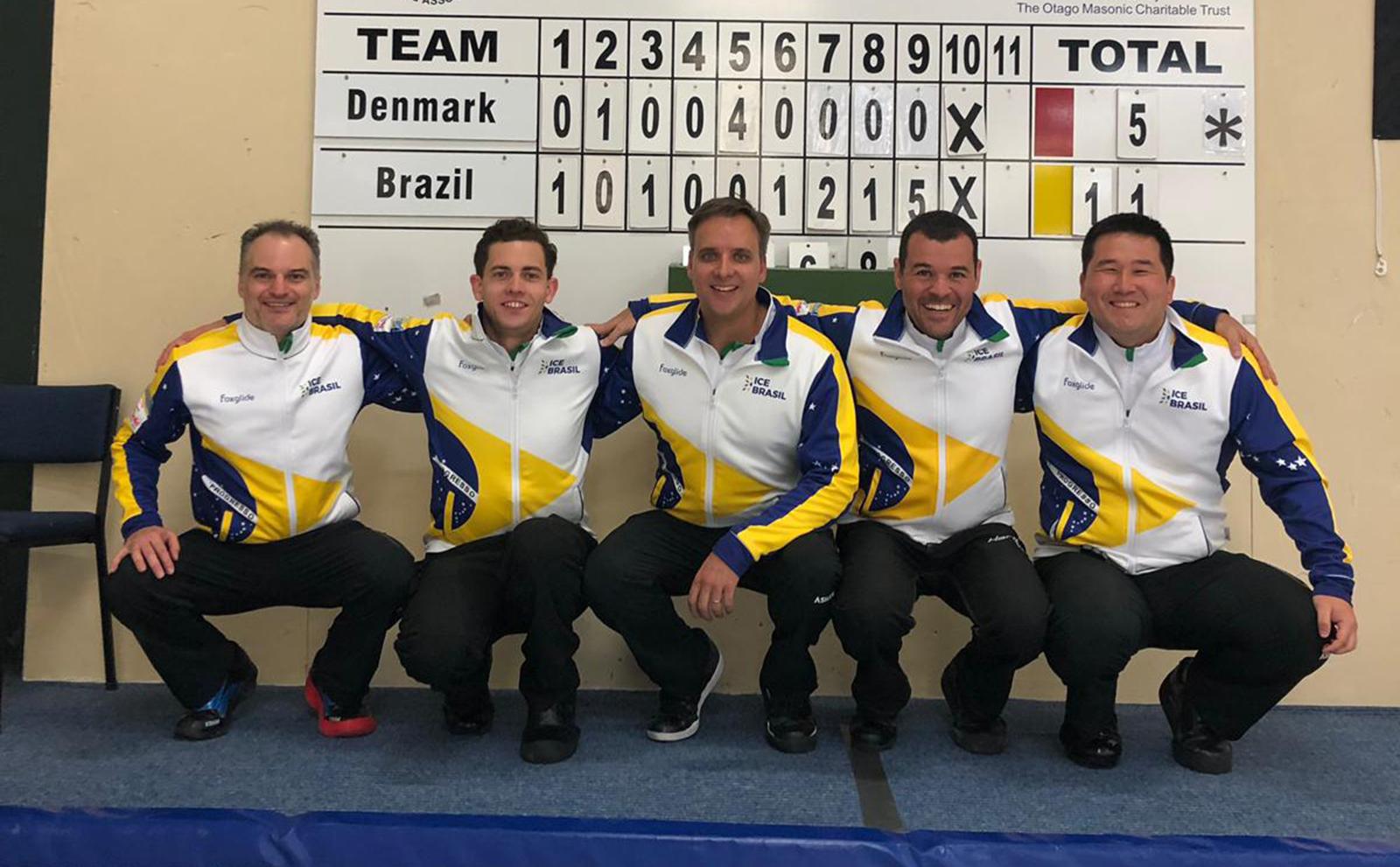 Homens vencem e Brasil se despede de 'repescagem' no Curling