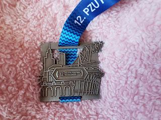 Medal 12 PZU Półmaraton Warszawski