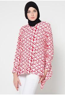 Gambar Model Batik Muslim Kerja