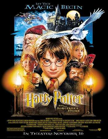 Harry Potter and the Sorcerer's Stone 2001 Hindi Dual Audio 700MB BluRay 720p ESubs HEVC