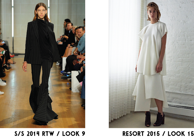 Ellery RTW Resort collection runway trend