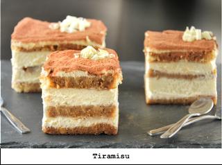 De lekkerste tiramisu, met zelfgemaakt cake en amaretto creme. Ook glutenvrij verkrijgbaar