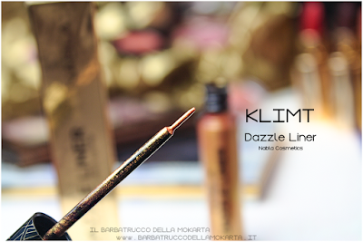 KLIMT review eyeliner gold  goldust collection Nabla cosmetics