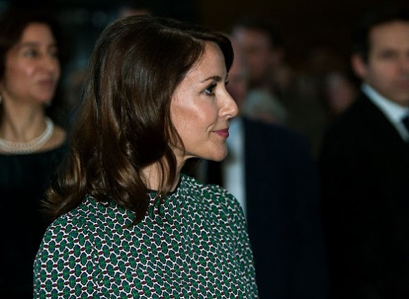 Princess Marie of Denmark attends the opening of the art exhibition 'Pissarro' at Ordrupgaard Art Museum in Charlottenlund. Princess Marie wore Étoile Isabel Marant blouse