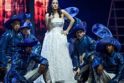 Victoria en Les 3 Mousquetaires comedie musicale