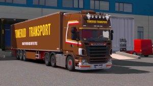 Scania R620 Tonerud Combo truck + trailer mod
