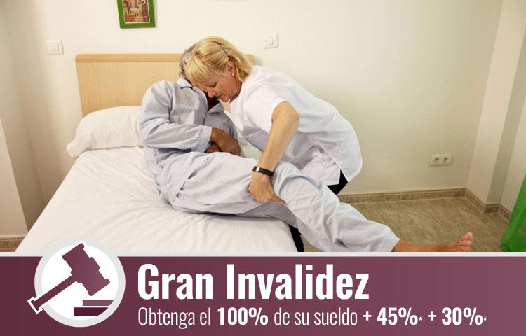 Gran invalidez en Zaragoza