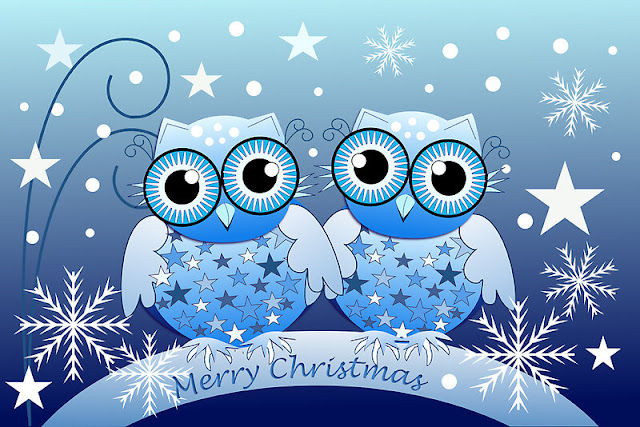 Christmas owl images 2017