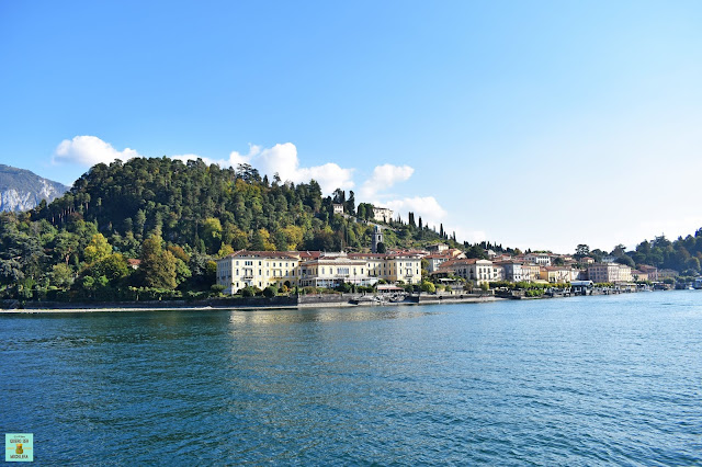 Bellagio en Lago di Como, Italia
