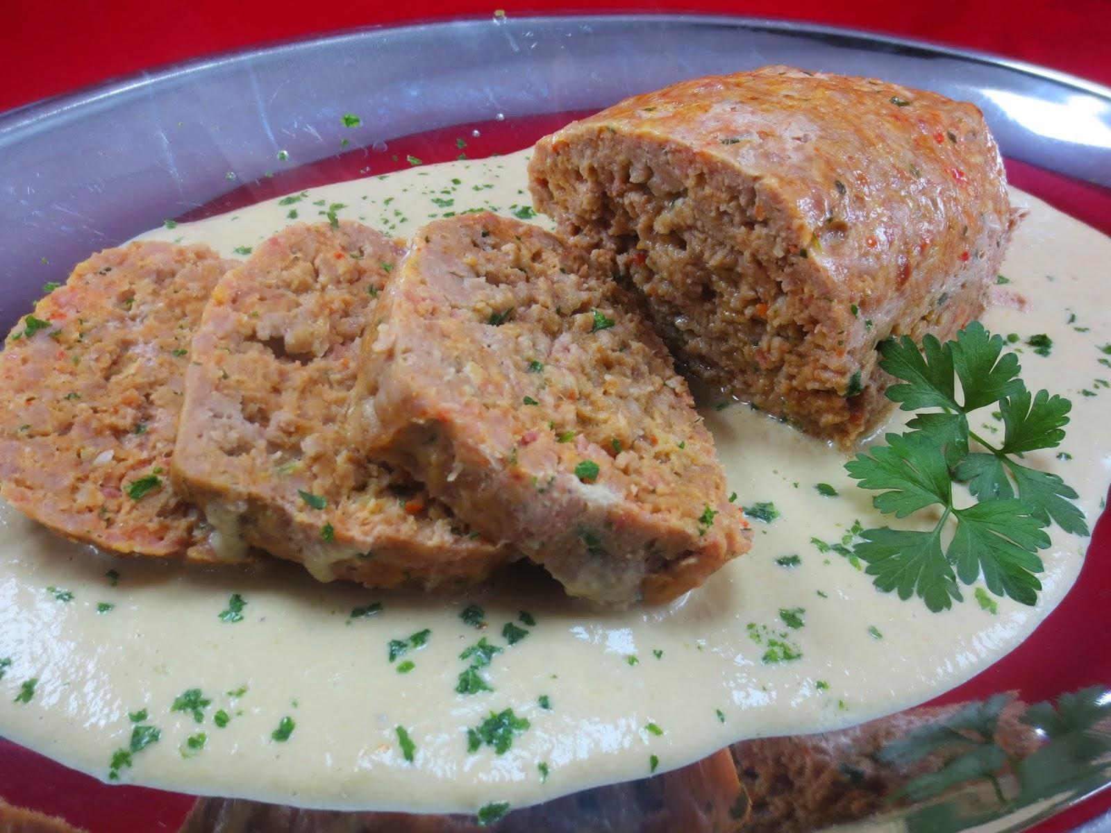 Rollos de carne en salsa de champiñones Ana Sevilla cocina tradicional