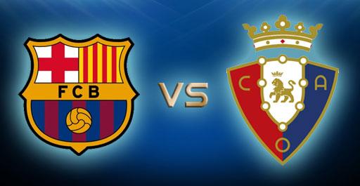 مشاهدة مباراة برشلونة وأوساسونا بث مباشر اليوم الدوري الاسباني