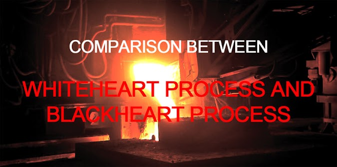 Difference between Whiteheart Process and Blackheart Process