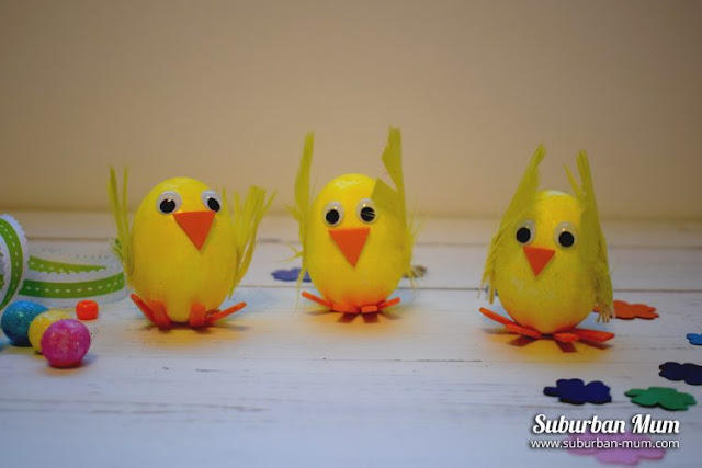 Craft your own Easter chick